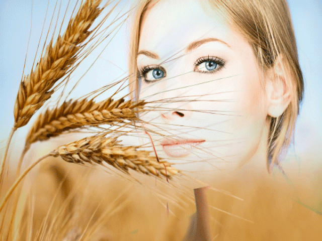 خواص جوانه گندم برای پوست