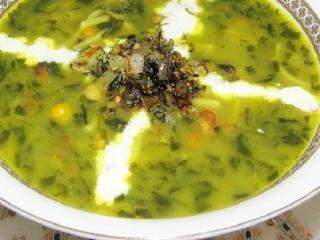 آش سبزی شیرازی مخصوص سیزده بدر