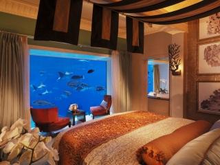 هتلی جدید در دبی 60 متر زیر آب!