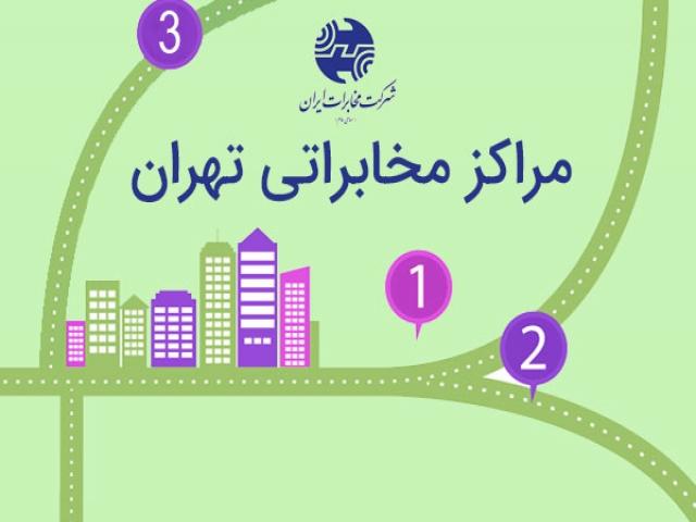 آدرس مراكز مخابراتی تهران + تلفن