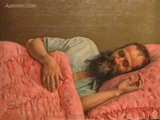 در وصف نقاش برجسته معاصر ؛ اسماعیل آشتیانی