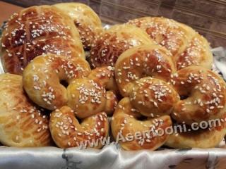 نان شیرمال خانگی سالم و خوشمزه
