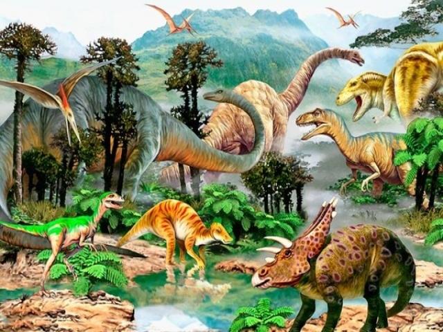 معرفی انواع دایناسورها