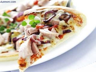 طرز تهیه پیتزا تن ماهی