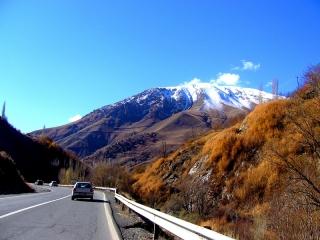 جاده چالوس پاییزی در قاب تصویر