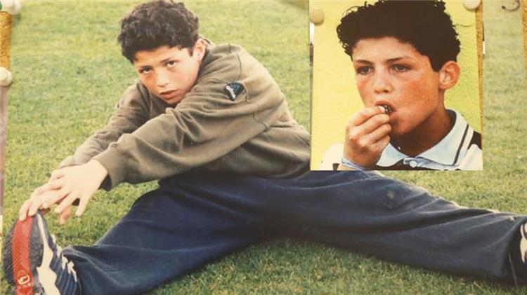 کریستیانو رونالدو در کودکی
