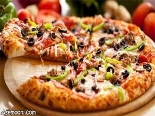 روش تهیه پیتزا مخلوط