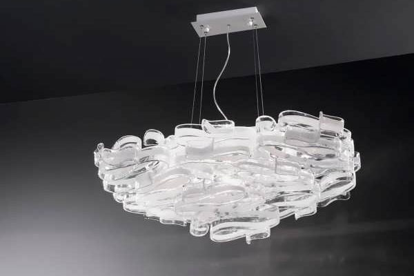 Photos of the model super stylish and luxurious catering chandelier (10)