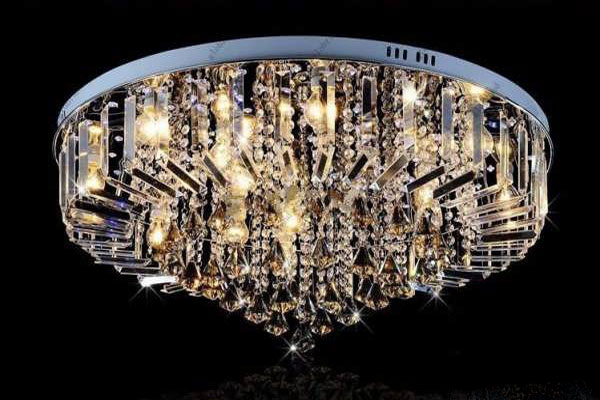 Photos of the model super stylish and luxurious catering chandelier (11)
