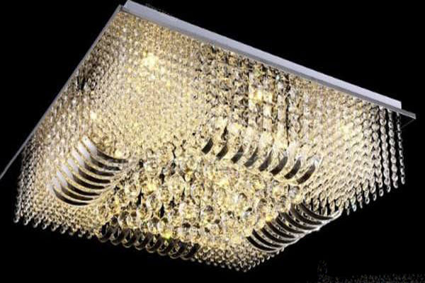 Photos of the model super stylish and luxurious catering chandelier (12)