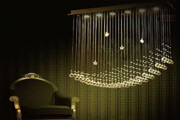 Photos of the model super stylish and luxurious catering chandelier (15)