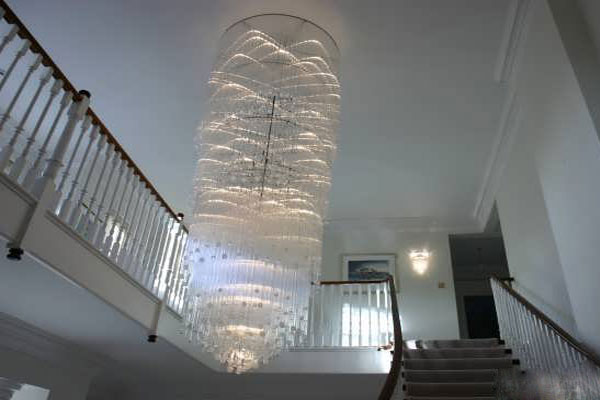 Photos of the model super stylish and luxurious catering chandelier (17)