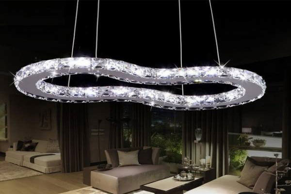 Photos of the model super stylish and luxurious catering chandelier (20)