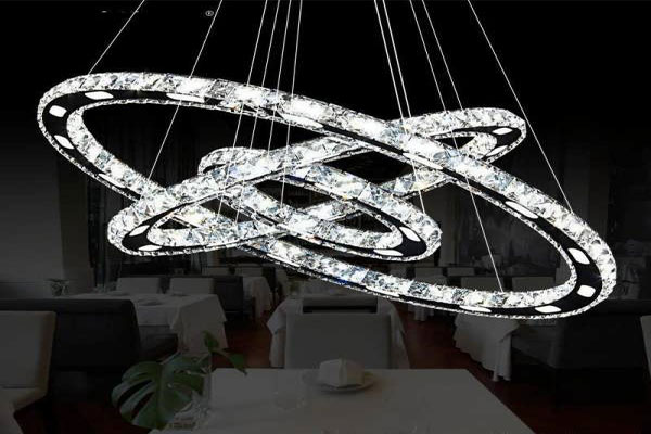 Photos of the model super stylish and luxurious catering chandelier (21)