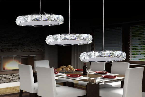 Photos of the model super stylish and luxurious catering chandelier (22)
