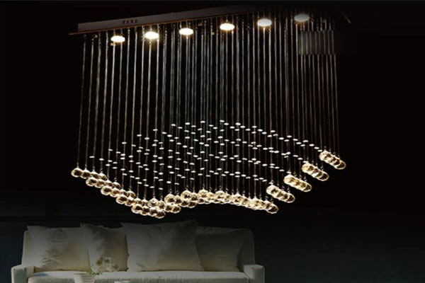 Photos of the model super stylish and luxurious catering chandelier (6)