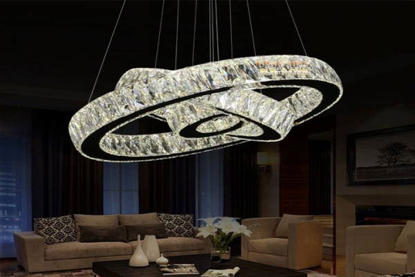 Photos of the model super stylish and luxurious catering chandelier (7)
