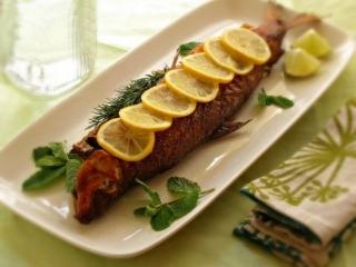 کباب کردن ماهی قزل آلا