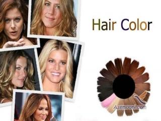 شناخت انواع رنگ مو