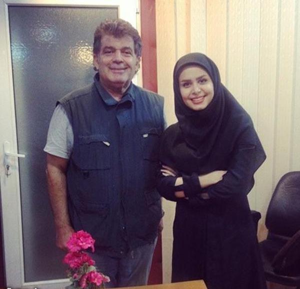 نجمه جودکی و مرحوم مهران دوستی