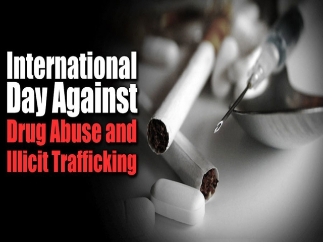 26 ژوئن ، روز جهانی مبارزه با اعتیاد و قاچاق مواد مخدر