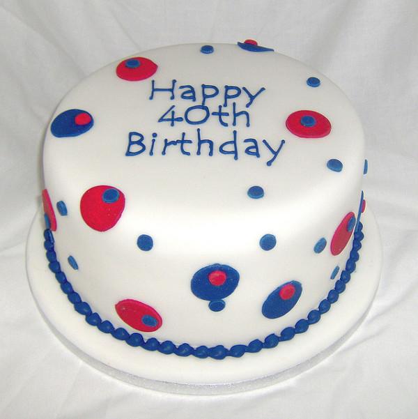 40th-Birthday-Cake