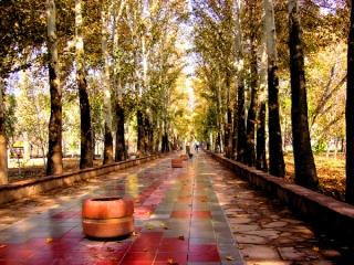 پاییز در جهانشهر کرج