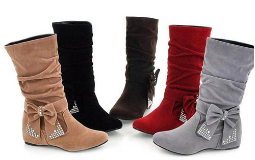 2014-Holiday-Sale-Fashion-font-b-Boots-b-font-Bow-Decoration-OL-Style-Fashion-and-font