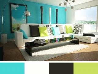 معنی رنگ ها در طراحی داخلی