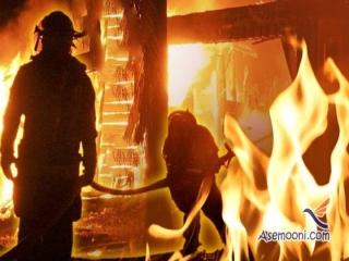 آتش سوزی گسترده کارخانه ای در جنوب پایتخت
