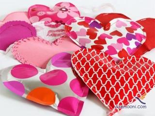 آموزش ساخت بالشتک های قلبی برای روز عشق