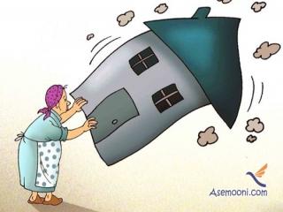 شعر طنز خانه تکانی عید