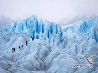 تصاویری زیبا و دیدنی از توده های یخی