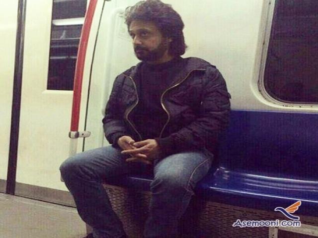 خواننده لس آنجلسی در متروی تهران