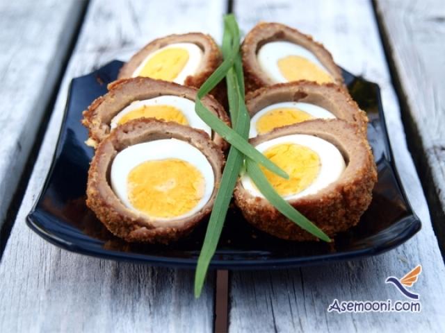 طرز تهیه کوفته تخم مرغی