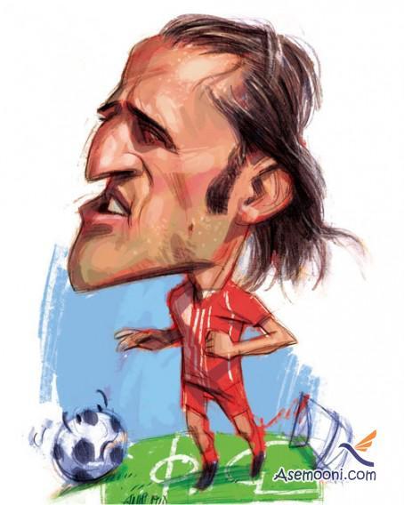 Cartoons Iranian footballers(10)