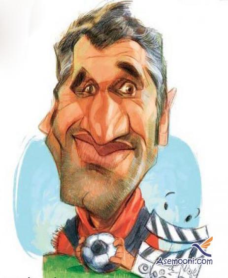 Cartoons Iranian footballers(16)