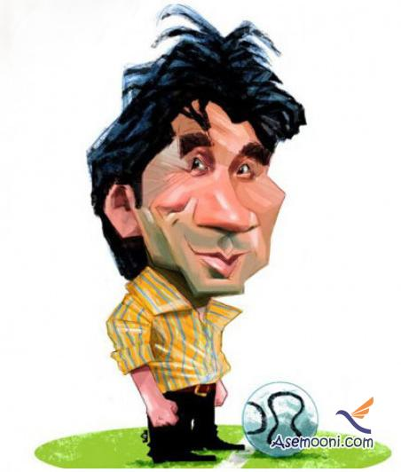 Cartoons Iranian footballers(2)