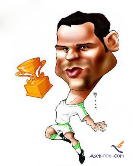 Cartoons Iranian footballers(9)