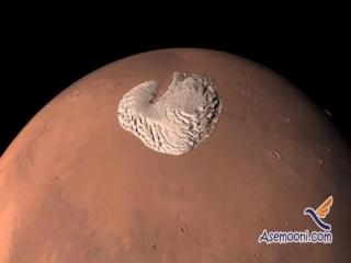 رازهای 40 ساله کلاهک یخی مریخ
