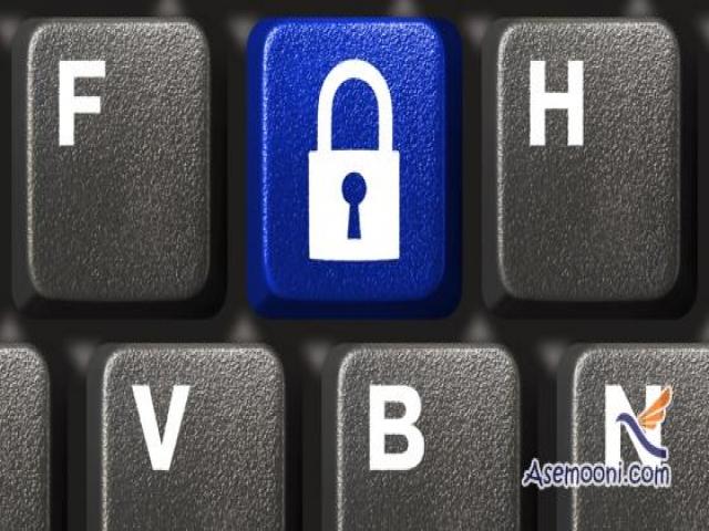 قفل کلیدهای کیبورد بدون نصب نرم افزار