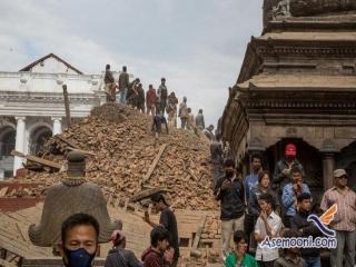 تلفات زلزله در نپال از 1900 تن گذشت
