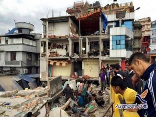 آمار جان باختگان نپال رو به افزایش است