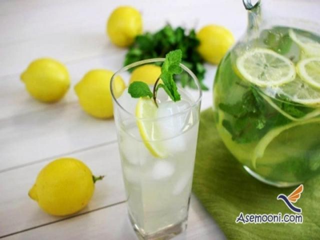 بهاری خنک و گوارا با لیموناد نعنایی
