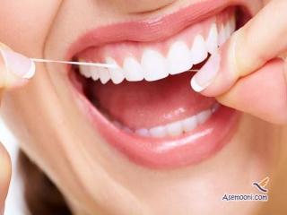 زمان مناسب استفاده از نخ دندان