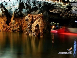 بزرگترین غار آبی آسیا - غار قوری قلعه کرمانشاه