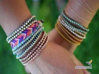 ساخت دستبند های دخترانه شیک