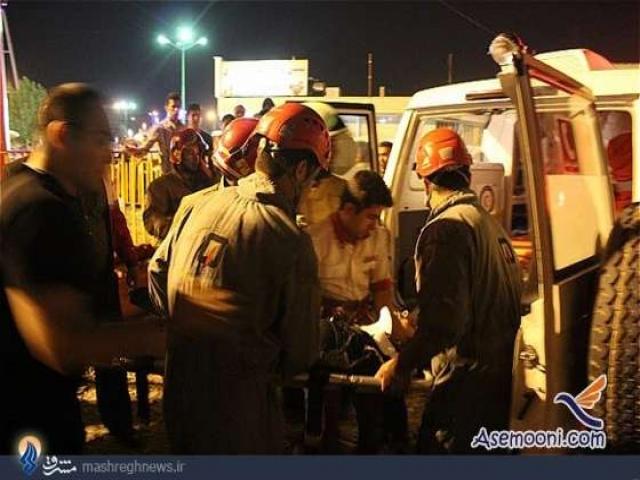 وقوع حادثه برای 3 دختر جوان در پارک ارم