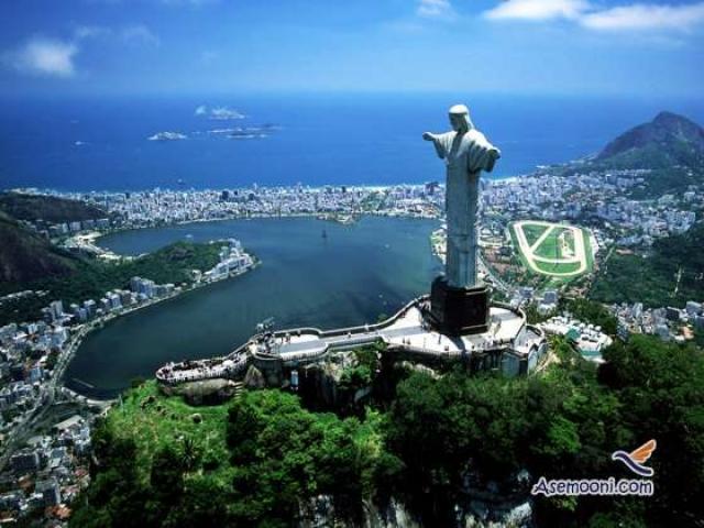 عکس های بسیار زیبا از جاذبه های ریودوژانیرو  برزیل