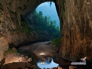 غار بزرگ و زیبای سون دونگ ویتنام